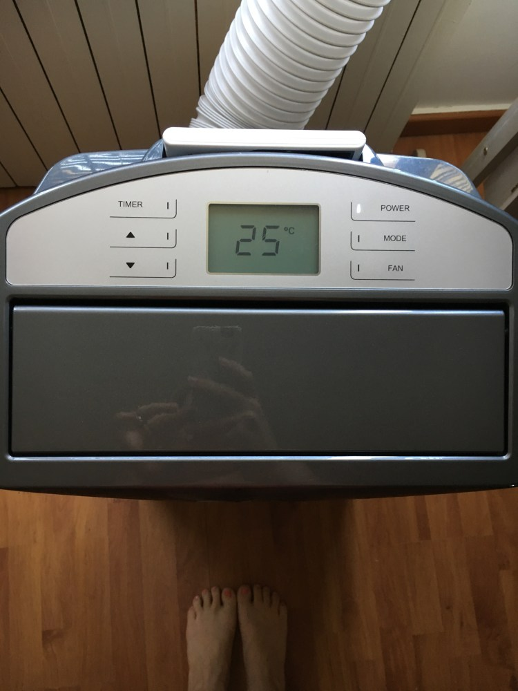 écran tactil du climatiseur taurus alpatec