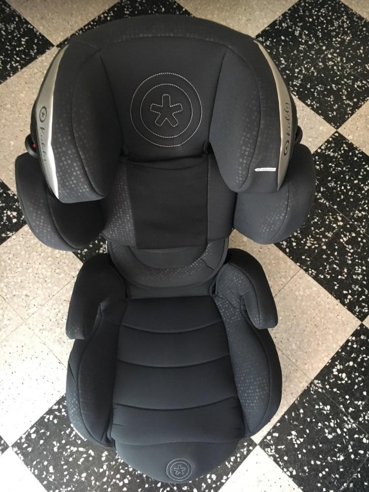C'est un siège auto gardianfix3 kiddy je partage mon test mon avis de parents