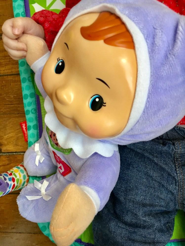 Louison lumi poupon Vtech bébé doudou veilleuse chanson
