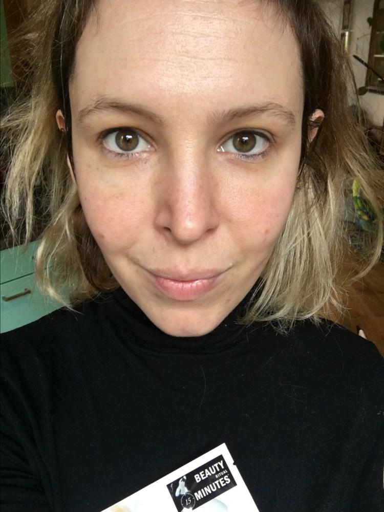 test masque beauty minutes peau neuve repuplée novexpert