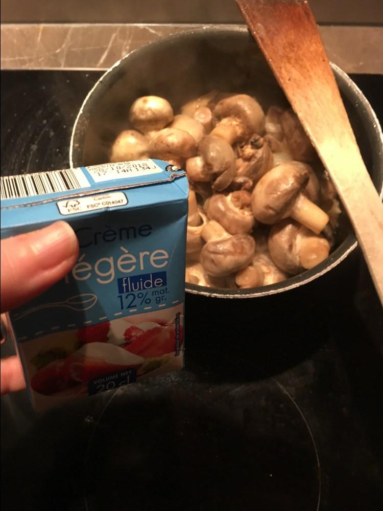 recette facile velouté champignons de paris