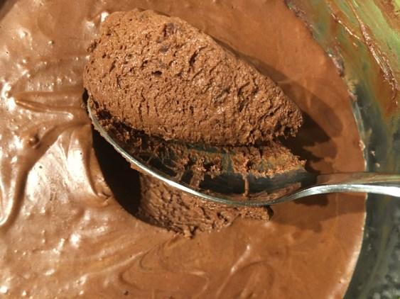 recette de mousse au chocolat vegan pois chiches sans oeuf aquafaba