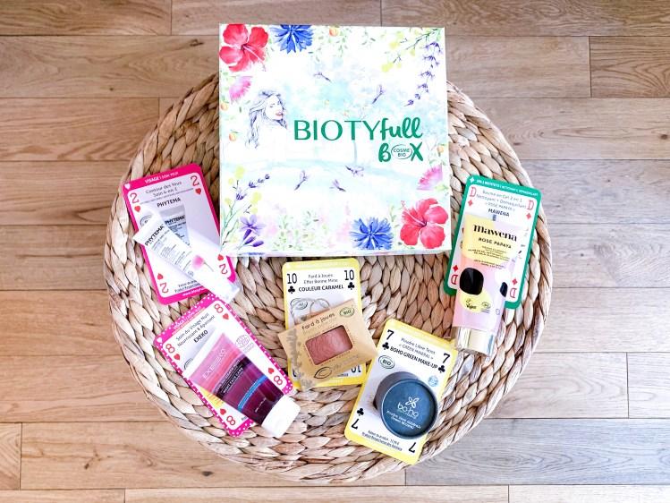 Biotyfull Box d'Avril 2019
