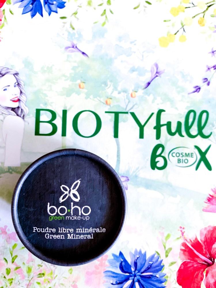 Biotyfull Box d'Avril 2019 Boho