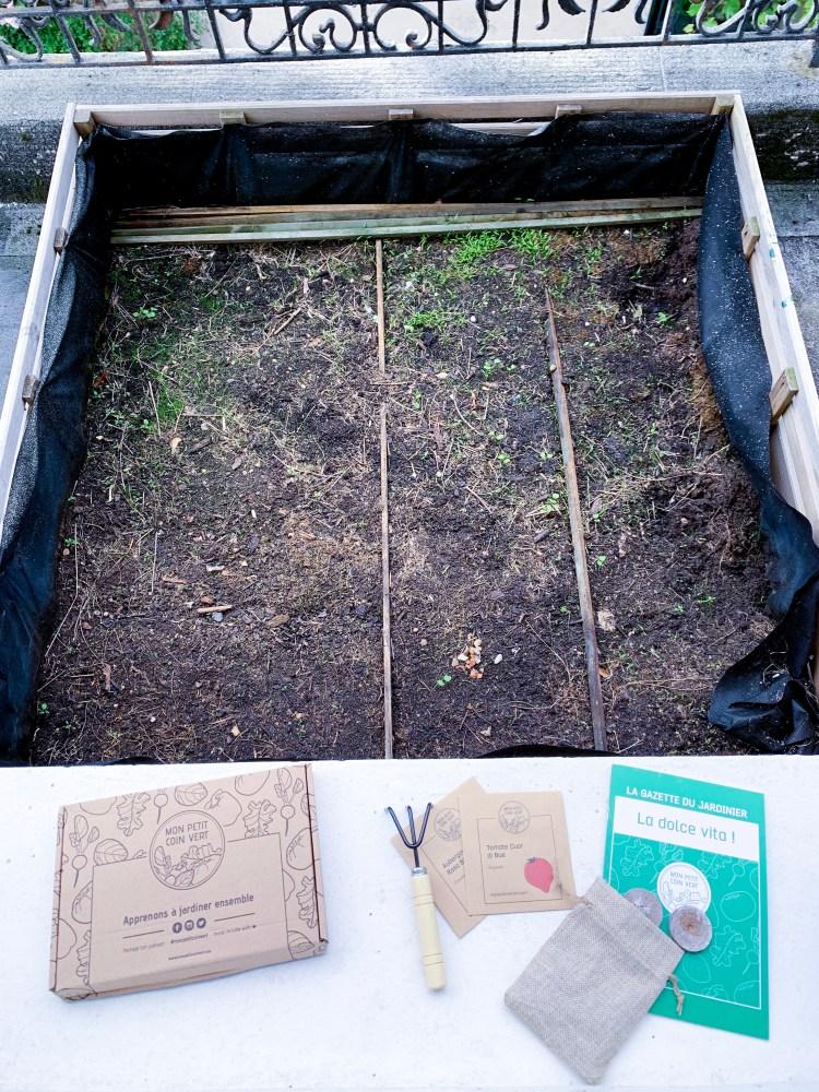 la box jardinage bio mon petit coin vert