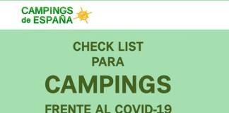 check list para campings-Encaravana
