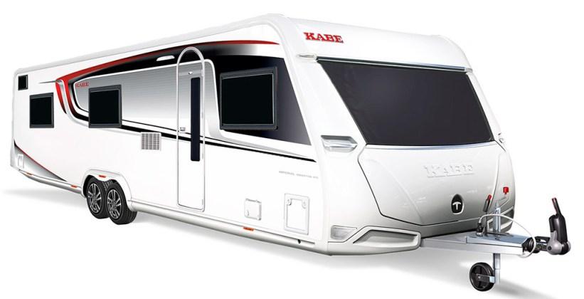 Caravanas de doble eje Kabe Imperial 16