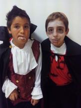 Mosaico 12. Two vampires