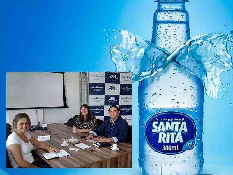 Água Mineral Santa Rita é patrocinadora do Encatho & Exprotel 2018