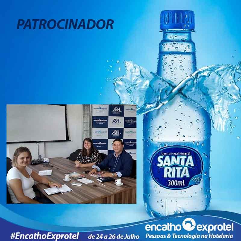Água Santa Rita Confirma patrocínio ao Encatho & Exprotel 2018