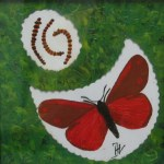St. Jacobs vlinder