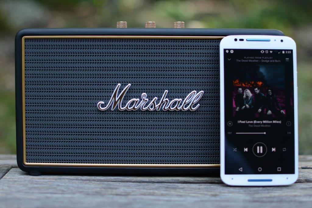 Enceinte Bluetooth Marshall Stockwell Portable Et Puissante