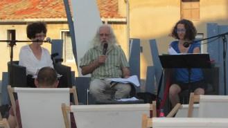 Avec Cécile Ouhmani et Antoine Simon
