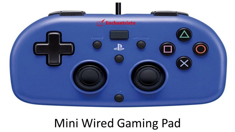 Mini Wired Gaming Pad - PS4 Controller