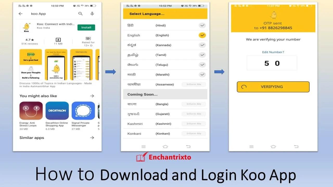 Koo App - Alternative to Twitter Login