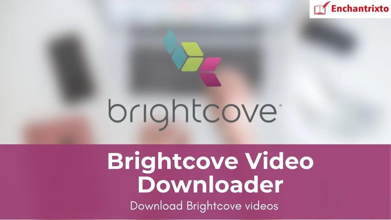 Brightcove Video Downloader