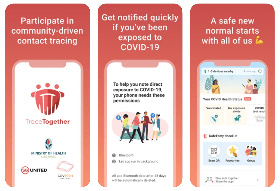 Tracetogether Application