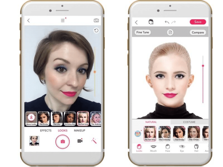 YouCam App - App to change hair color