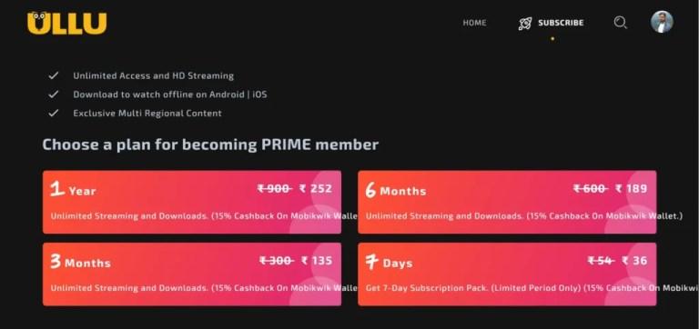 ULLU Web Series Download - Premium Plans