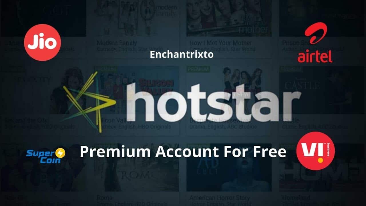 Hotstar Premium For Free