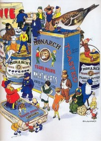 Monarch Food Advertisement