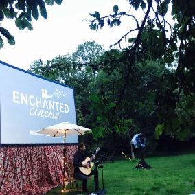 Music before Guardians of the Galaxy screening by Enchanted Cinema