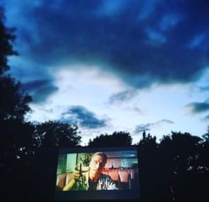 Pulp Fiction under beautiful Cambridge skies at Enchanted Cinema