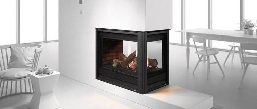 gas fireplace peninsula