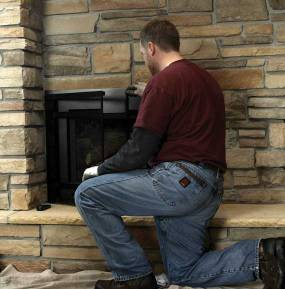 Annual Maintenance of fireplace