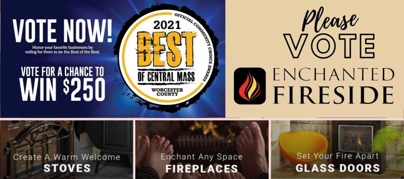 Please vote enchanted fireside best of central mass worcester county