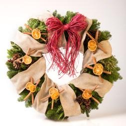 EFI Holiday Spice Wreath Building Kit
