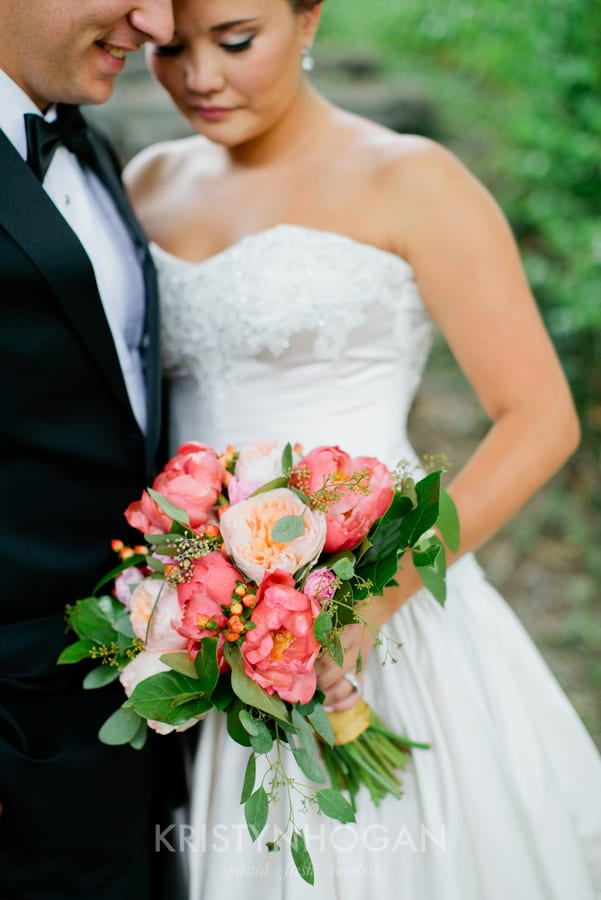 Enchanted Florist, Pink Wedding Downtown Nashville, Kristyn Hogan Photography (5)
