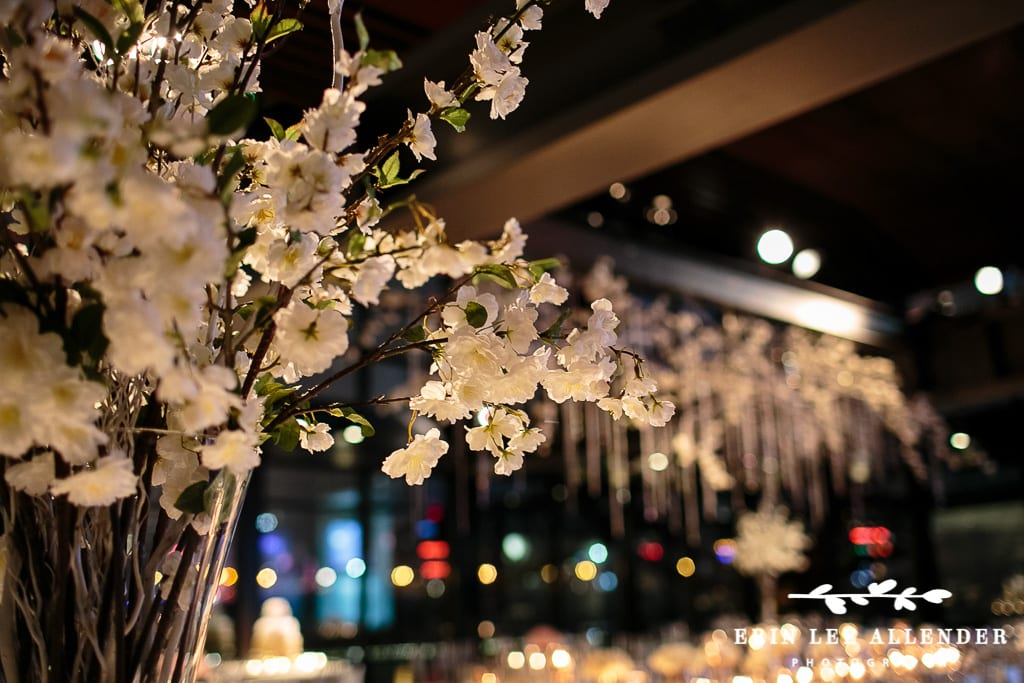 Enchanted Florist New Year S Eve Rose Gold Glamour Wedding At The Bridge Building