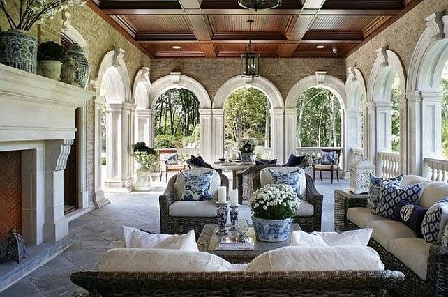 Building a blue and white collection part 2 - The ... on White Patio Ideas id=66662