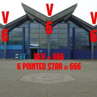Enchanted Liverpool   Bootle's Hidden Hex & 6 Pointed Star - Saturnalia Worship - The Baphomet