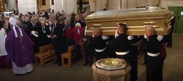 jimmy savile funeral ken dodd