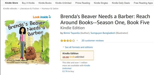 Brenda's Beaver Shaven In Sexual Subliminals 'Reach Around' Kids Books