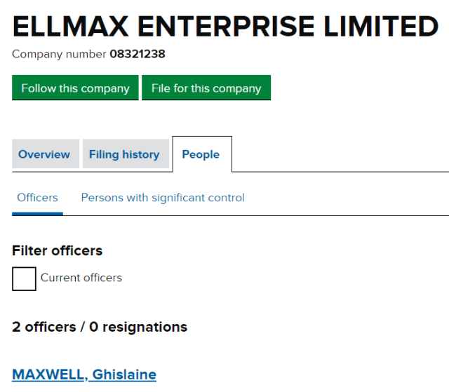 ELLMAX ENTERPRISE LIMITED
