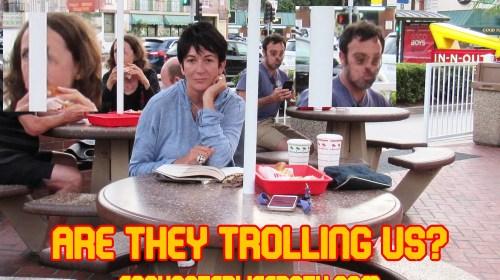 Epstein's Panto Perv Jizzlaine Maxwell's Burger – Farrington's Fake News