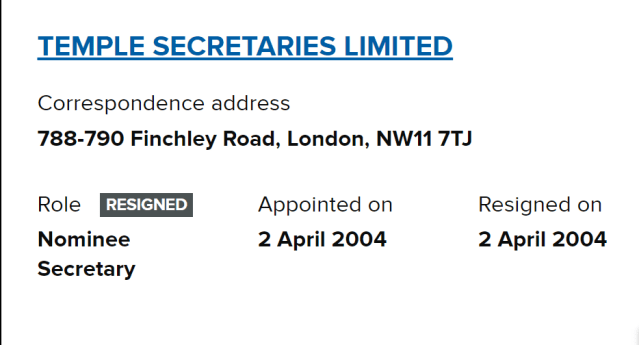 DP9 LTD made NHS Nightingale London planning permission application. Dp9 connected to 788-790 Finchley rd