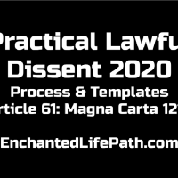 Article 61 Magna Carta 1215 - Process Via The Real Practical Lawful Dissent