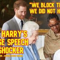 Prince Harry's Reverse Speech - Archie Windsor's Birth