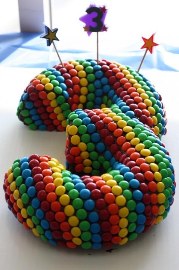 3 birthday cake