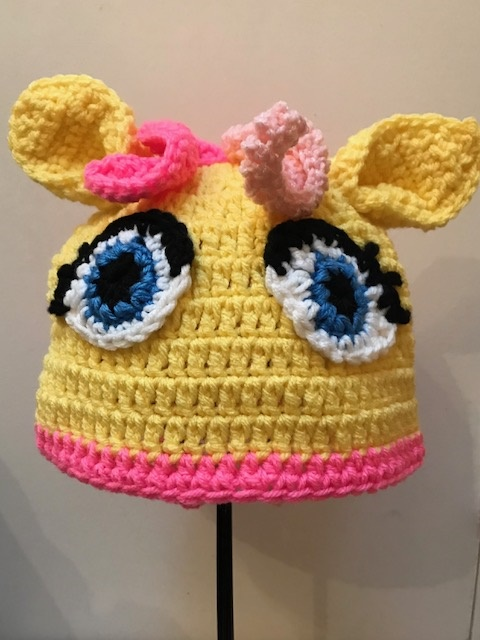 Yellow Pony Hat