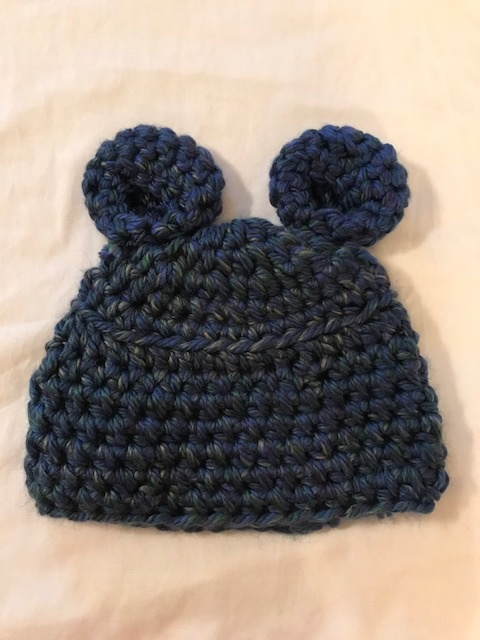 Chunky Hat with Bear Ears