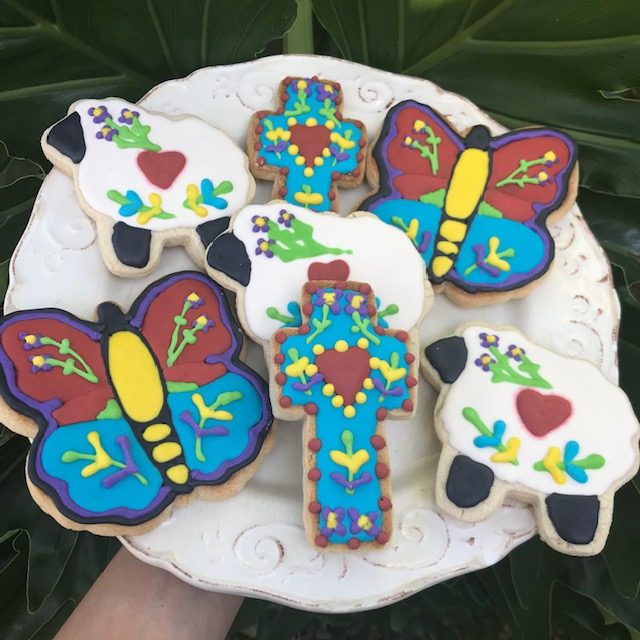 Folk Art Sugar Cookie