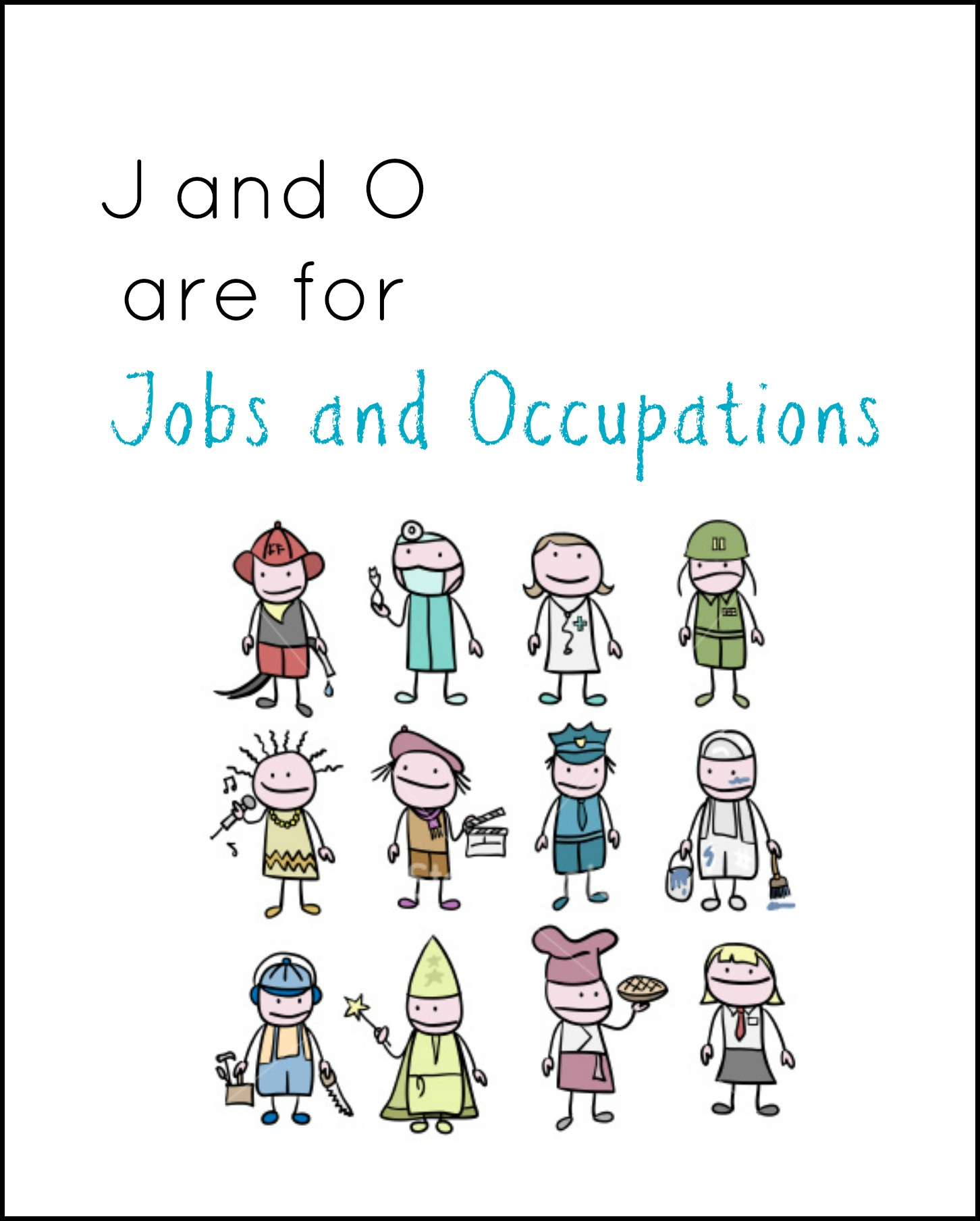 J And O For Jobs And Occupations Enchantedyankee