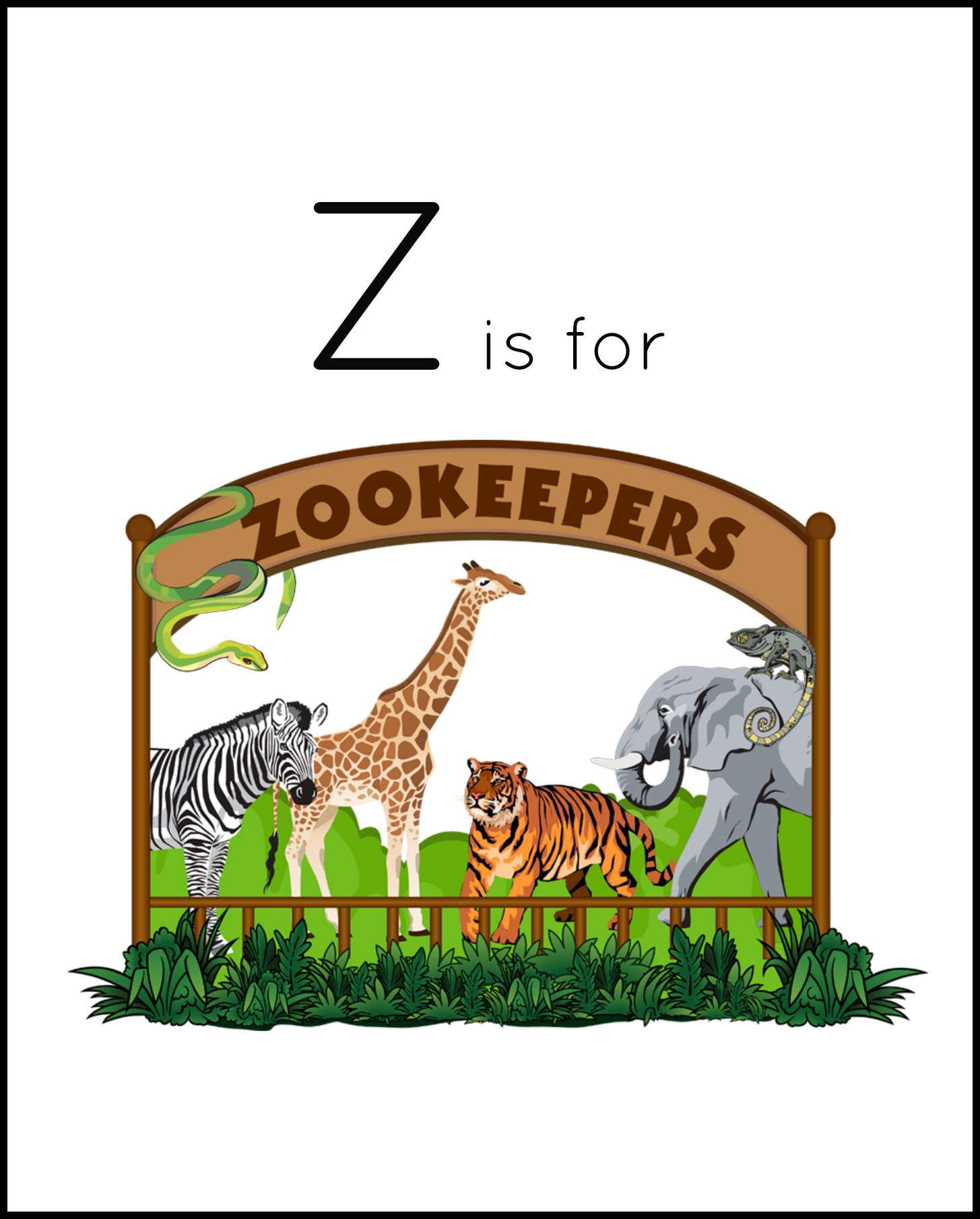 Zoo Crafts Enchantedyankee