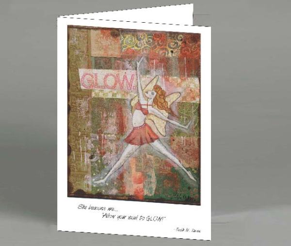 Fairy Glow Note Card