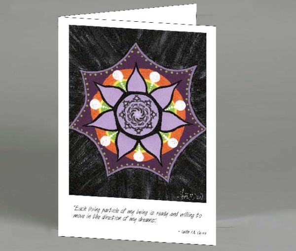 Mandala 1 Note Card